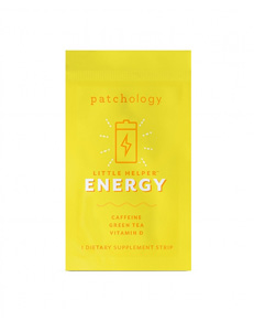 PATCHOLOGY - Energy Supplement Strips, 6 pack, RRP £10