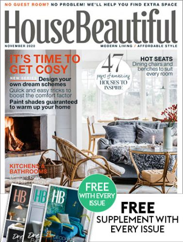 November 2020 House Beautiful Black And White Christmas Decorations House Beautiful Magazine Subscription | Hearst UK Official Online