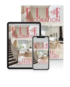 ELLE Decoration Digital Package Magazine July Issue 2018