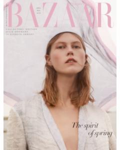 Harper's Bazaar April 2019 Special Edition Armani Cover