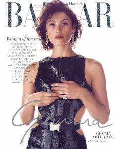 Harper's Bazaar December 2018 Special Edition Gemma Arterton Cover
