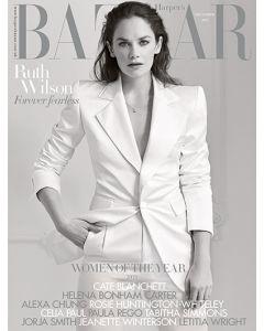 Harper's Bazaar December 2019 Special Edition Ruth Wilson Cover