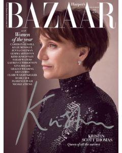 Harper's Bazaar December 2018 Special Edition Kristin Thomas Cover