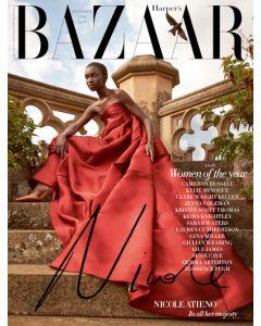 Harper's Bazaar December 2018 Special Edition Nicole Atieno Cover