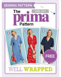 Wrap-over Dresses and Top - Prima Pattern (Apr 21)