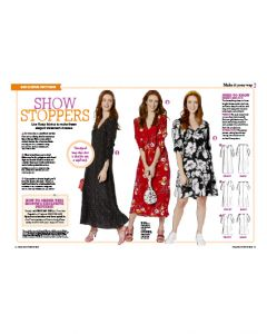 Show Stopper Floral Dress - Prima Pattern (Oct 20)