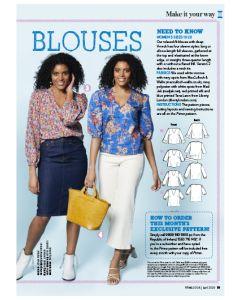 Easy-breezy Blouses- Prima Pattern (Apr 20)