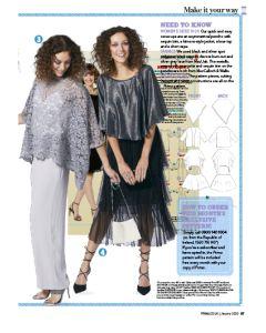 Glamorous Cover-ups - Prima Pattern (Jan 20)