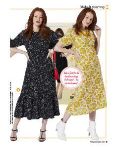 Statement Dress - Prima Pattern (May 20)