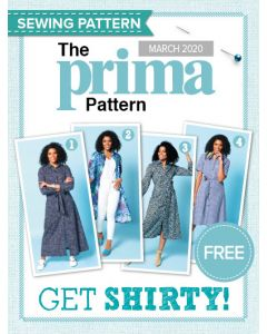 Shirt Dress - Prima Pattern (Mar 20)