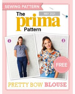 Pretty Bow Blouse - Prima Pattern (May 21)