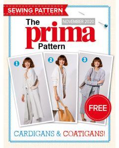 Cardigans and Coatigans - Prima Pattern (Nov 20)