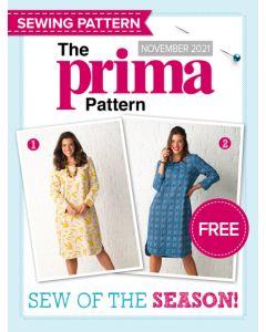 Tunic-style dress - Prima Pattern (Nov 21)