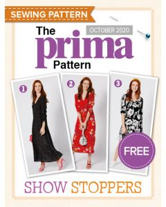 Show Stopper Floral Dress - Prima Pattern (Oct 20)