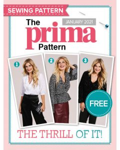 Pattern tops - Prima Pattern (Jan 21)