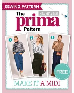 Midi Skirts - Prima Pattern  (New Year 21)