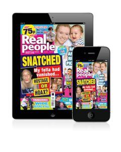 Real People Digital Edition Magazine Subscription